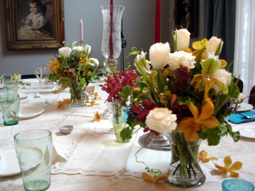 Late Summer Early Fall Wedding Table