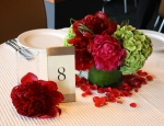 Bride & Groom's Sweetheart Table