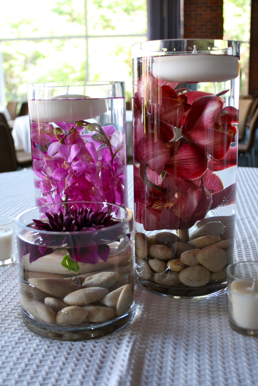 Orchid centerpieces petalena creative designs for